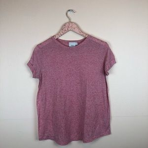 ASOS Maternity Pink Short Sleeve Tee size 6